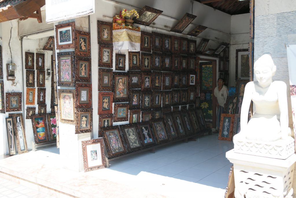 boutique d'Art à Ubud