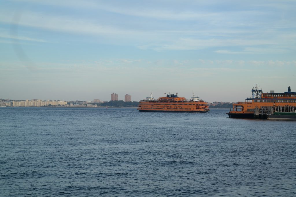 Les Ferries de Staten Island à New York