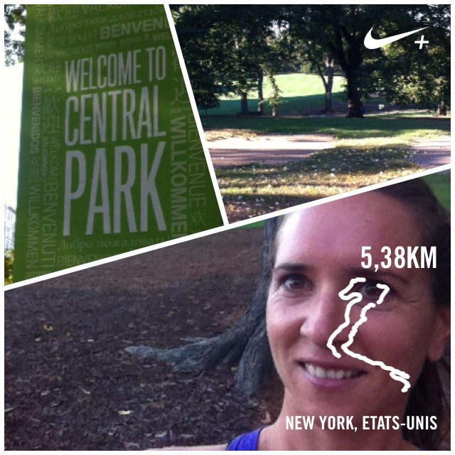 Run à Central Park New York