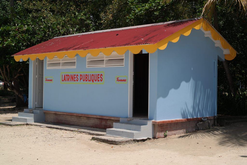 latrine en Martinique